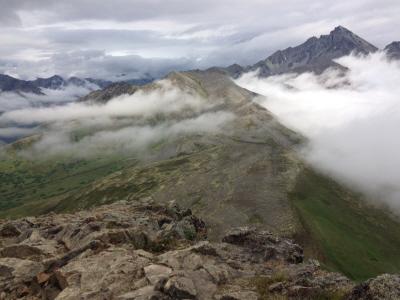 Alaskan mountain scenery