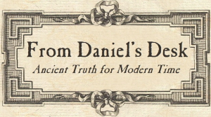 From Daniel's Desk